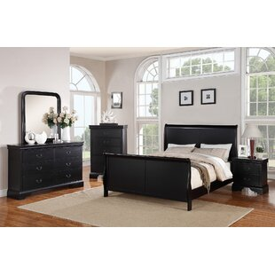 Bois Sleigh Configurable Bedroom Set by Charlton Home 2019 Coupon