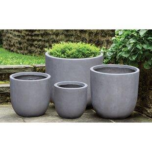 Concrete Large Planters You Ll Love Wayfair