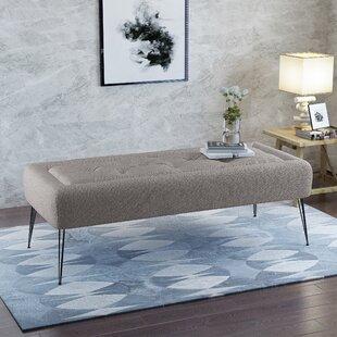 Wrought Studio Perillo Upholstered Bench