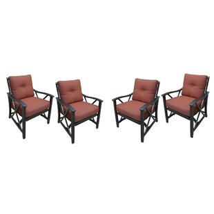 Pennville Rocking Chair with Cushions (Set of 4) by Darby Home Co