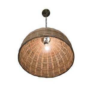 Elodie 1-Light Dome Pendant
