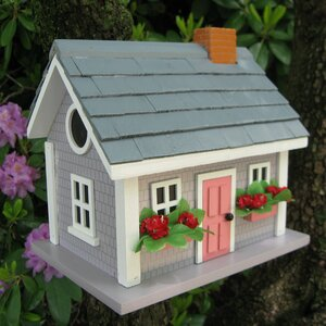 Fledgling Series Vineyard Cottage 10 in x 9 in x 9 in Birdhouse