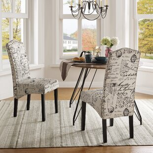 Higgs Upholstered Dining Chair (Set Of 2) By Ophelia & Co.
