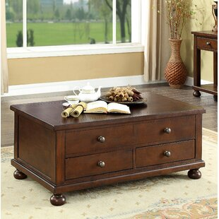 Darby Home Co Stenya 2 Drawer Lift Top Coffee Table