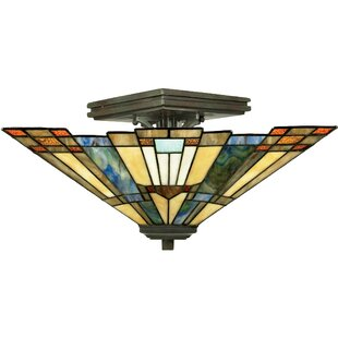 Bush Semi- Semi Flush Mount by Loon Peak