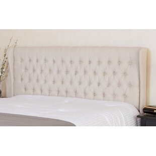 Rhonda Upholstered Wingback Headboard By Darby Home Co