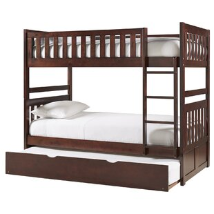 Great choice Bradninch Bunk Bed with Trundle and Drawer ByBirch Lane™