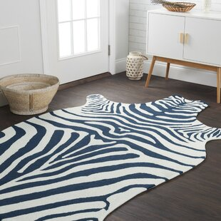 Zayas Navy Indoor/Outdoor Area Rug