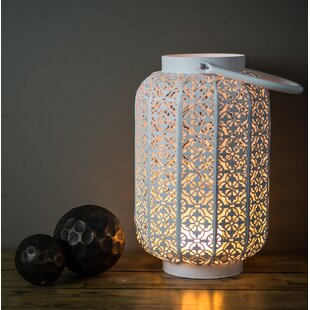 Battery Operated Metal Lantern
