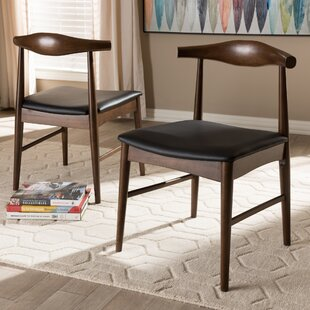 Center Drive Upholstered Dining Chair (Set of 2) George Oliver