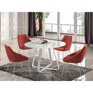 Raiden 5 Piece Dining Set George Oliver