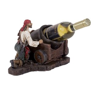 Bryd Pirate 1 Tabletop Wine Bottle Rack b..