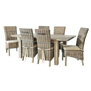 Hingham Extendable Dining Set With 6 Chairs By Beachcrest Home