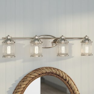 Find Galsworthy 4-Light Vanity Light By Beachcrest Home
