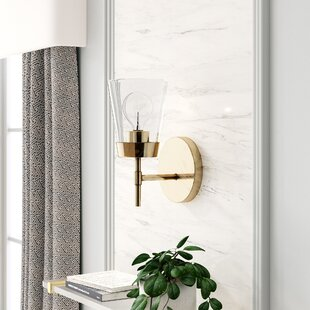 Abernethy 1-Light Armed Sconce by Mercer41