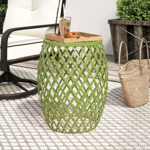 Crutchfield Outdoor Metal Side Table