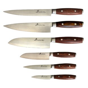 3 Layers Forged Series 6 Piece Knife Set