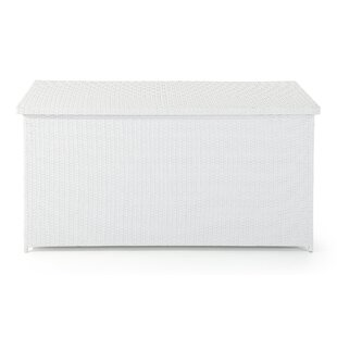 Velago 215 Gallon Wicker Deck Box