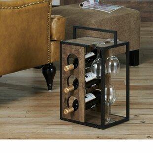 Williston Forge Neill 3 Bottle Tabletop Wine Rack
