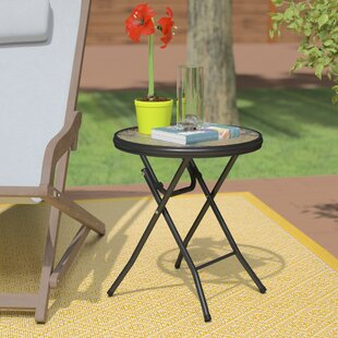 Lawrence Folding Metal Side Table