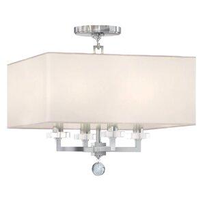 Paxton 4-Light Semi Flush Mount