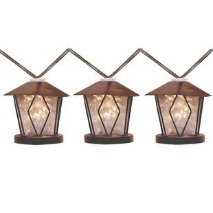 Penn Distributing 10-Light 28 ft. Lantern String Lights
