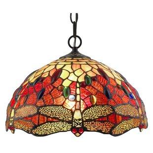 Amora Lighting 2-Light Bowl Pendant