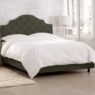 Viola Upholstered Panel Bed