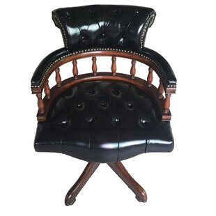 Eastern Legends Leather Bankers Chair