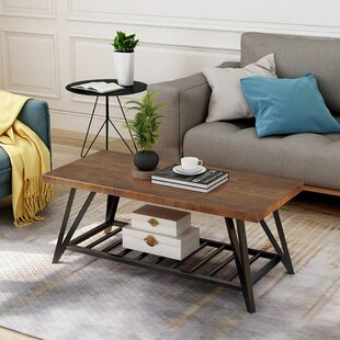 Ulmer Coffee Table With Storage By Union Rustic