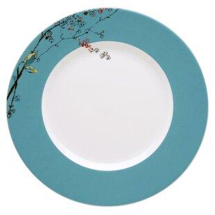 Chirp 11\  Dinner Plate  sc 1 st  Wayfair & Turquoise Dinner Plates | Wayfair