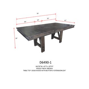 Springwater Extendable Dining Table Loon Peak