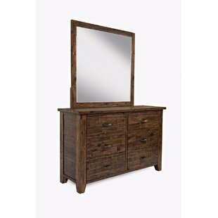 Loon Peak Reddin 6 Drawer Dresser