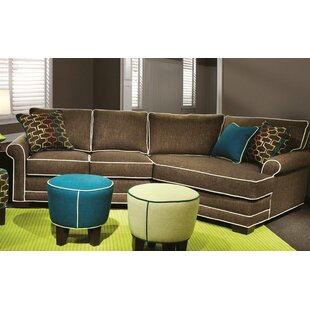 Cool Audrie Sectional Red Barrel Studio