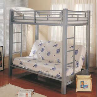Sibert Futon Twin Bunk Bed by Harriet Bee