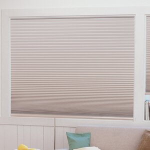 Easy Lift Trim-at-Home Cordless Light Blocking Fabric Pleated Shade