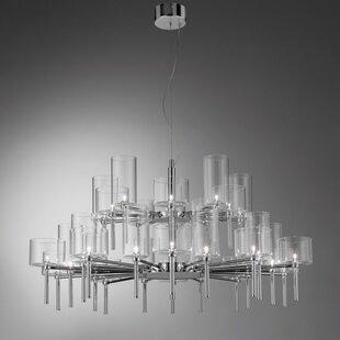Bussey 30-Light Shaded Chandelier by Orren Ellis