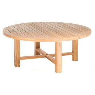 Earnest Round Teak Coffee Table