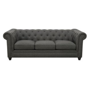 Cozine Chesterfield Sofa by Darby Home Co Great price