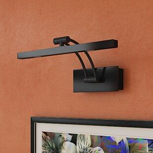 Led wall lantern wayfair 1 light led wall light aloadofball Choice Image