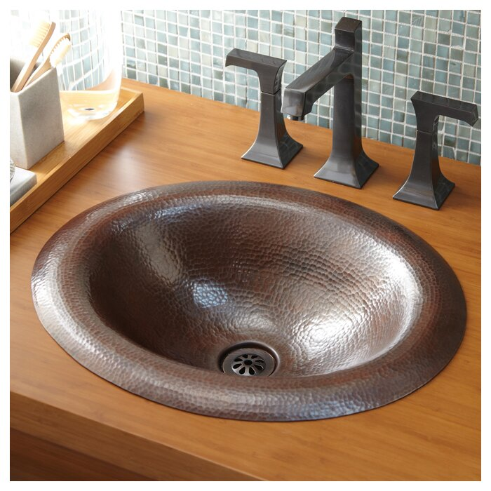 Stupendous Maestro Metal Oval Drop In Bathroom Sink Home Interior And Landscaping Palasignezvosmurscom