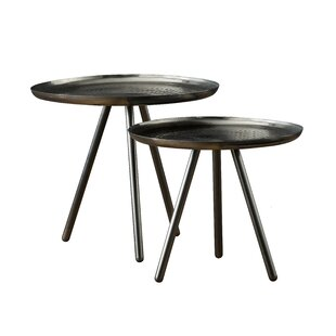 Modoc 2 Piece Nest Of Tables By World Menagerie