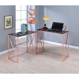 Esmeyer Set Comprising 2 Piece Writing Desk Set (Set of 2)