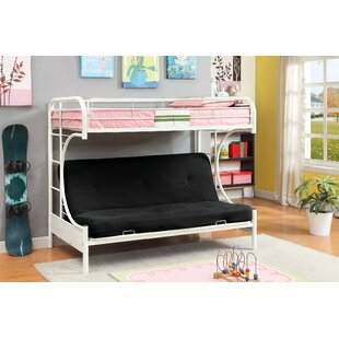 Compare prices Quezada Twin Over Full Futon Bunk Bed by Zoomie Kids Reviews (2019) & Buyer's Guide