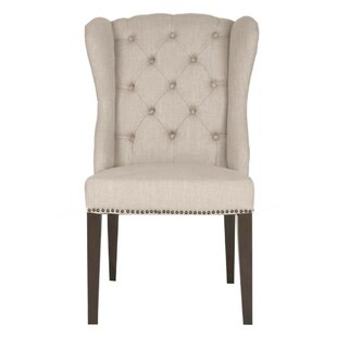 Dunsmuir Button Tufted Upholstered Dining Chair Ophelia & Co.