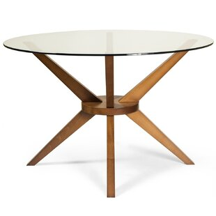 cassidy dining table - Glass Round Dining Table