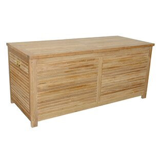 Large Camrose Teak Deck Box