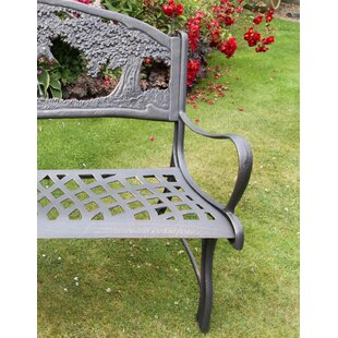 Horses Iron Bench By Gardeco