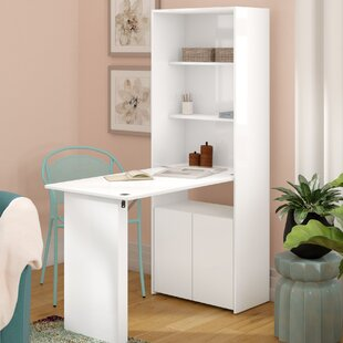 Veazey Writing Desk with Bookcase