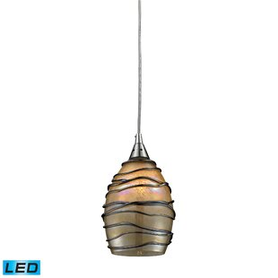 Angelika 1-Light Cone Pendant by Bloomsbury Market